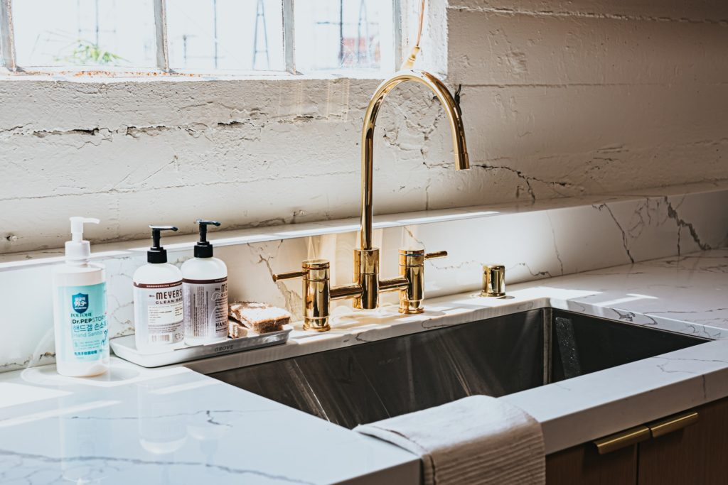 Sink with Plumbing